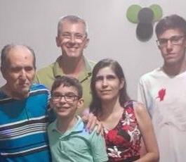 Eloi, Eloina, Vagner, Gabriel e Rafael